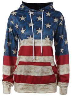 GET $50 NOW | Join RoseGal: Get YOUR $50 NOW!http://www.rosegal.com/sweatshirts-hoodies/american-flag-printed-loose-hoodie-785973.html?seid=5154878rg785973