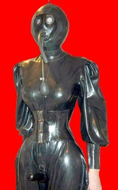 Total enclosure Catsuit, Interesting Conversation, Heavy Rubber, Sissy Maid, Latex Girls, Gas Masks, Lingerie, Female, Lady