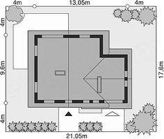 Projekt Dom przy Cyprysowej 10 130,37 m2 - koszt budowy - EXTRADOM Dom, My House, House Plans, Floor Plans, How To Plan, Architecture, Furniture, Houses, Home Decor
