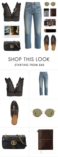 """""""SERENDIPITY"""" by arditach ❤ liked on Polyvore featuring RE/DONE, Gucci, Ahlem and BYRON"""