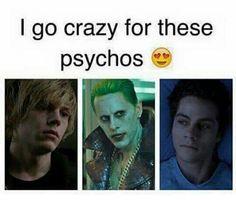 joker, teen wolf, and tate langdon image