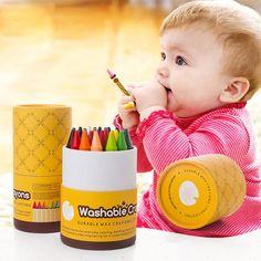 14.90$  Buy now - VIVCOR 16/24 Colors Crayons Suit Washable Color Crayon Children Graffiti Oil Pastel Art Supplies Papelaria  #shopstyle
