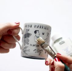 Tatoo votre mug tuto diy - Autres bricoles - Pure Loisirs - How to customize your mug with tattoos ?