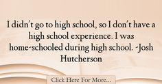 Josh Hutcherson Quotes About Experience - 18095