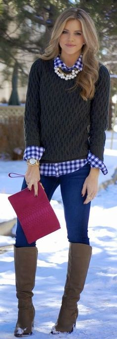 Adorable and beautiful winter outfits for work 2017 78 72dpi