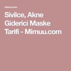 Sivilce, Akne Giderici Maske Tarifi - Mimuu.com
