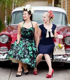 Raceday style at its best! I love the flowers. Races Fashion, Fashion 2014, Spring Racing Carnival, Race Wear, Erotic Photography, Red Shoes, Pin Up Girls, Pinup, Rockabilly