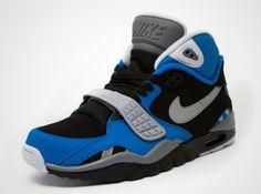 Nike Air Trainer SC II – Black – Blue – Grey