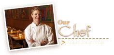 Greens Restaurant. Affiliated with SF Zen Center and Tassajara. Founding chef was Deborah Madison, now Annie Somerville.