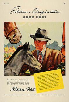 Publicidad sombreros Stetson 1938