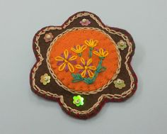 broche fieltro