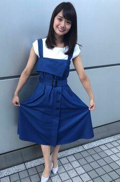 Waist Skirt, High Waisted Skirt, Overall Shorts, Asian Beauty, Overalls, Kawaii, Skirts, Seika, Women