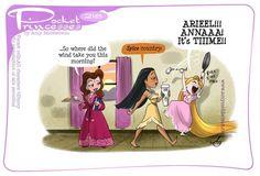 Pocket Princesses 218: Spice by Amy Mebberson