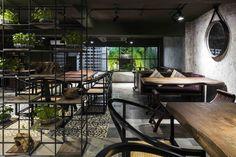Gallery of ƯU ĐÀM Vegetarian Restaurant / Le House - 53