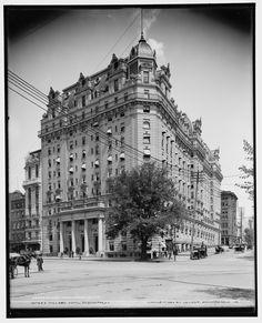1904 Willard Hotel http://cdn6.ghostsofdc.org/wp-content/uploads/2012/12/4a11702u.jpg