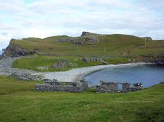 Fethaland - the most northerly tip of the mainland of Shetland, and the site of an old haaf fishing station.