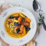 kurkumaliemi & paahdetut porkkanat / Hannan soppa