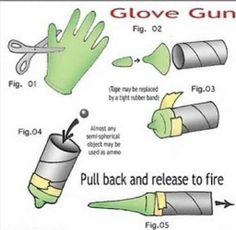 glove gun!