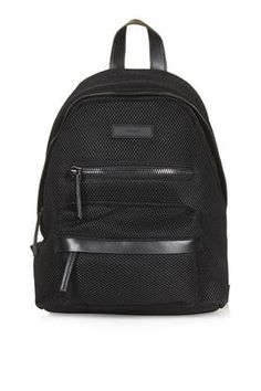 Mesh Zip Around Backpack
