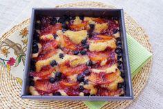 nectarine-blueberry pantry cake by @Patty Price / Patty's Food