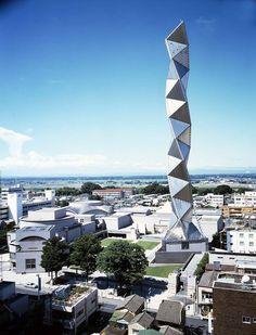 Art Tower Mito, by Arata Isozaki [1082x1407] : ArchitecturePorn