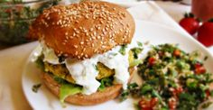 Recipe: Baked Chickpea Burgers | Greatist