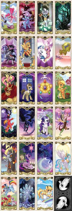 My Little Pony Tarot cards.