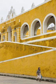 Convent San Antonio de Padua Izamal Yucatan Mexico