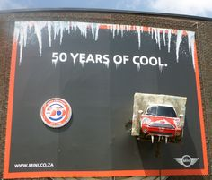 Mini - 50 Years of Cool, South Africa.  www.scafftech.co.za
