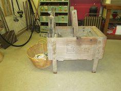 Vintage washing machine at Lyme Village