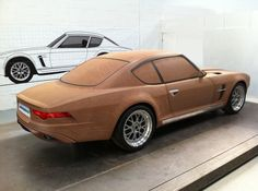 Clay model of the proposed Jensen GT, to be built by Jensen International Automotive. For ten years, the Jensen Interceptor offered buyers an eclectic mix of It Sports Car Brands, New Sports Cars, British Sports Cars, Sport Cars, Gt Cars, Cars Uk, Auto Gif, Jensen Interceptor, Automobile