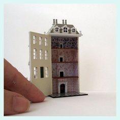 1:144 scale dollhouse