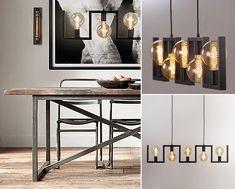 We zijn bij de top 3 aangekomen met een erg mooie, stoere metalen hanglamp. Ondanks de strakke, geometrische lijnen is deze industriële hanglamp speels en warm. Een juweeltje! Mooi in een ruw landelijk, stoer industrieel of strak modern Scandinavisch interieur. Eigenlijk gewoon een lamp die overal bij past. #straluma #verlichting #hanglamp #zwart #top10