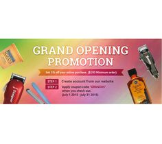 73 best 2018 barbersalon promotion images on pinterest beauty 100 minimum order step 1 create account from our website step 2 apply coupon codegrand05when you check out fandeluxe Gallery