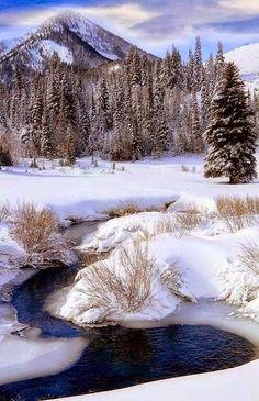 Big Cottonwood Creek, Cardiff Fork, Wasatch Mountains, Utah