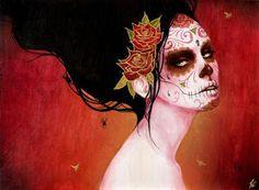 Catrina – Día de Muertos « ~ Fran ~