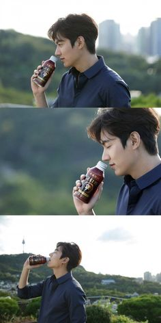 Lee Min Ho, a fall guy in a coffee commercial @ HanCinema