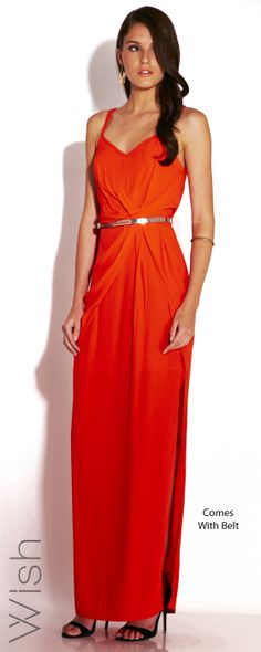 SMIK CLOTHING - WISH - NEW ARRIVALS - ETERNAL MAXI - FLAME