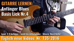 ✪ GITARRE LERNEN: Anfänger Blues ►Basis Lick Nr.4