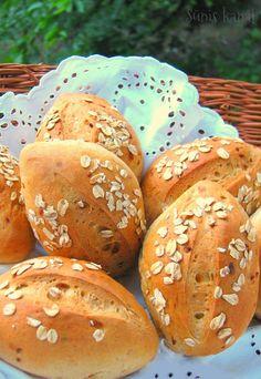 Buns, Hamburger, Bakery, Rolls, Bread, Kitchen, Food, Cooking, Brot