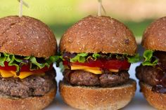 Sliders Recipe | @chocandcarrots