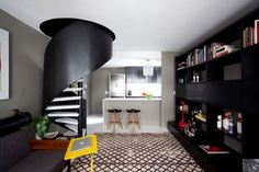 Small Sao Paulo Apartment Where Modern Elements Are Complemented By Soft Textures And Patterns
