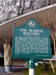 Markel building sign