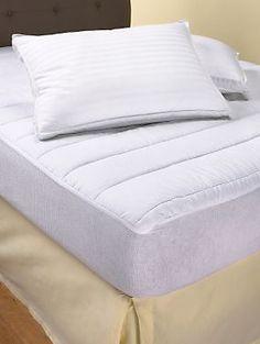 Beautyrest 200 Thread Count Mattress Pad   LinenSource