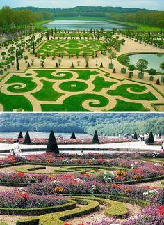 El Jardín  de Versalles - Francia