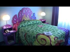 Finding Nemo room tour at Disney's Art of Animation Resort - Family Suite