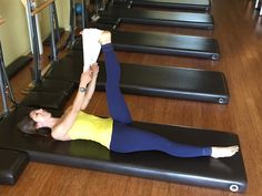 5 Stretches For Tight Hips & Hamstrings.  I will not be smiling so much when I try these, though....