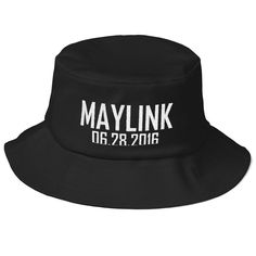 WOW!!! Limited inventory! Maylink 06.28.201... click here to check it out! http://www.maylinkstore.com/products/maylink-06-28-2016-old-school-bucket-hat?utm_campaign=social_autopilot&utm_source=pin&utm_medium=pin