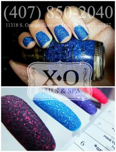 TREND ALERT: TEXTURED NAILS - OPI LIQUID SAND   Come and get your gritty pretty nails on! https://www.facebook.com/XONailsOrlando