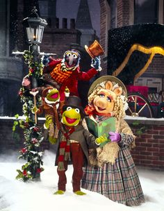 Go with the classic muppets Christmas Carol theme and get the muppets involved! A lovely story made fun with your favourite characters
